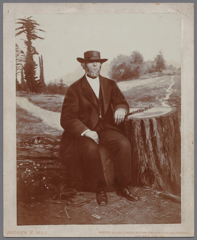 Mountain Charlie Portrait by Andrew Hill - 1890