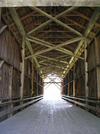 [ Photo of bridge inside. ]