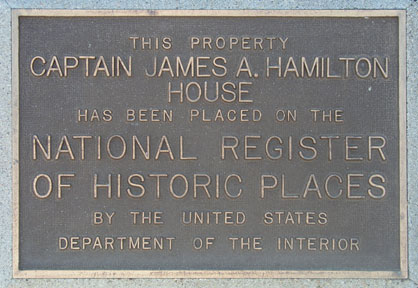 [Photo of NRHP plaque.]